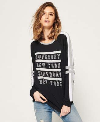 Superdry Pacific Baseball Top