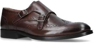 Kurt Geiger London Leather Montgomery Monk Shoes
