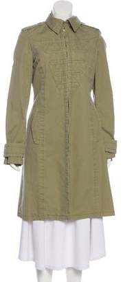 Marc by Marc Jacobs Woven Knee-Length Coat