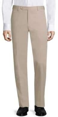 Zanella Flat-Front Pants