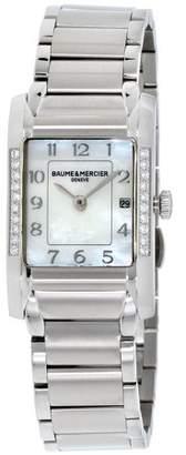 Baume & Mercier Baume Mercier Hampton Mother Of Pearl Dial Stainless Steel Ladies Watch M0A10051