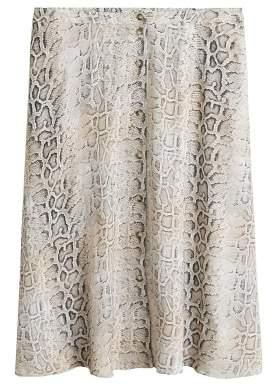MANGO Violeta BY Snake print skirt
