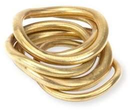 Soko Wavy Ring Stack