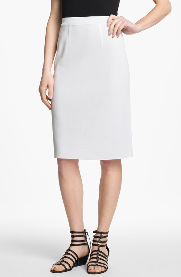 Exclusively Misook Pencil Skirt