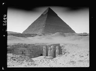 The Great Infinite Photographs Photo: Egypt. Tomb Near Pyramid
