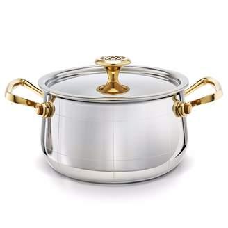 Ondine - Platine Medium Saucepan With Lid