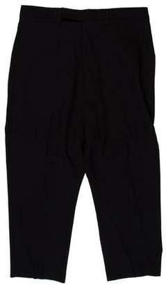 Rick Owens Woven Drop Cropped Pants