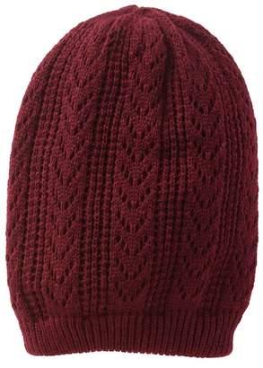 14th & Union Open Weave Knit Beanie