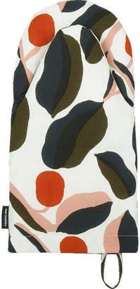 Marimekko Jaspi Oven Glove - White/Red/Yellow/Blue