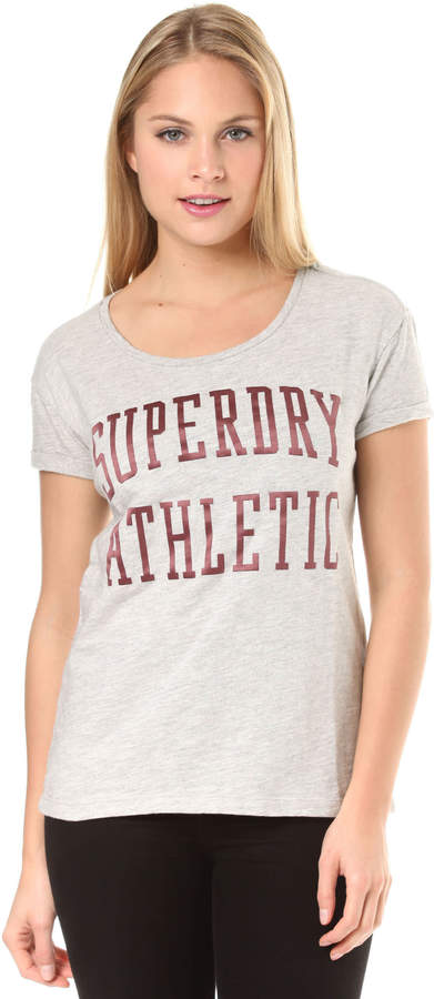 Athletic Slim Bf - T-Shirt für Damen