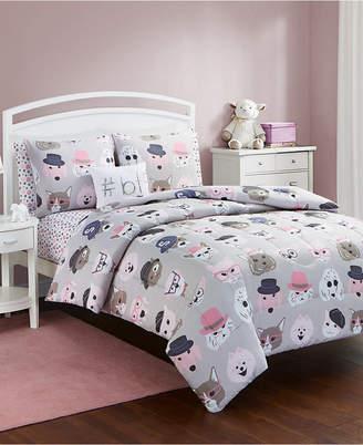 Sanders Furry Friends 7 Pc Full Comforter Set Bedding