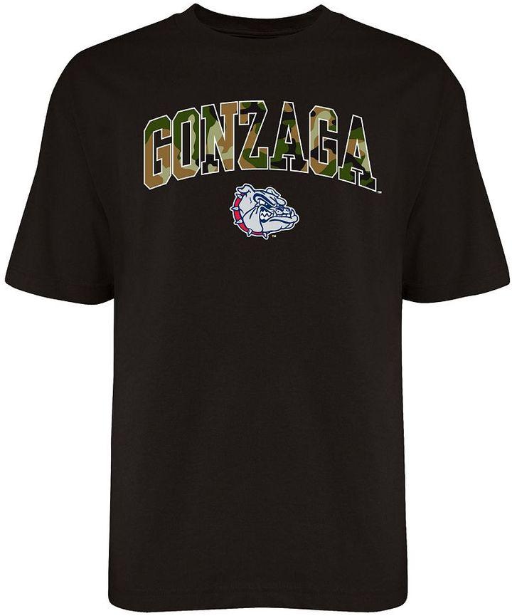 Camo Gonzaga bulldogs logo tee - men