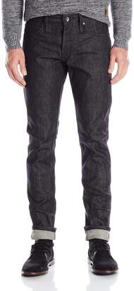 The Unbranded Brand Men's Ub404 Tight Black Selvedge Denim 38
