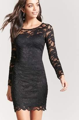 Forever 21 Crochet Lace Dress