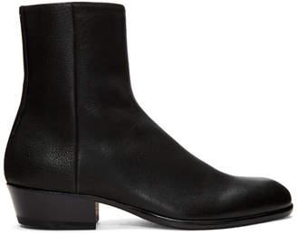 Maison Margiela Black Tuxedo Boots