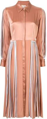 BODICE pleated shirt dress