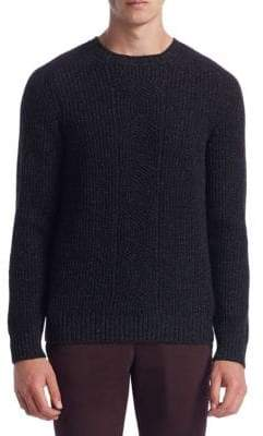 Saks Fifth Avenue COLLECTION Cashmere, Silk & Wool Crewneck Sweater