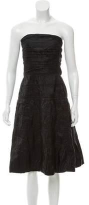 Marc Jacobs Silk A-Line Dress