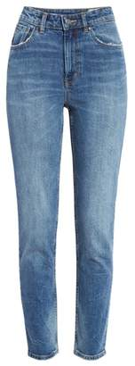 Rebecca Taylor High Waist Straight Leg Jeans