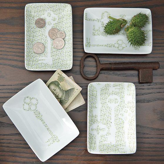 Garden Key Plates