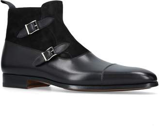 Magnanni Double Buckle Boots