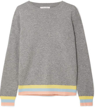 Chinti and Parker Cashmere Sweater - Gray