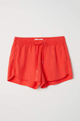 H&M Lyocell Shorts - Red