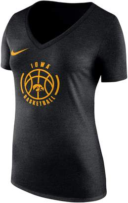 Nike Women's Iowa Hawkeyes Basketball Tee