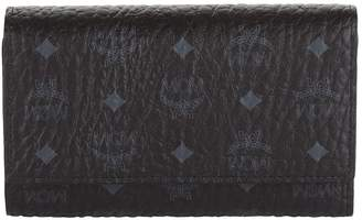 MCM Medium Visetos Three Fold Wallet