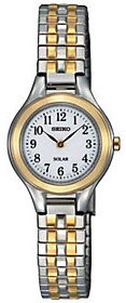 Seiko Women's Two-Tone Expansion Band Dress Watch $188 thestylecure.com