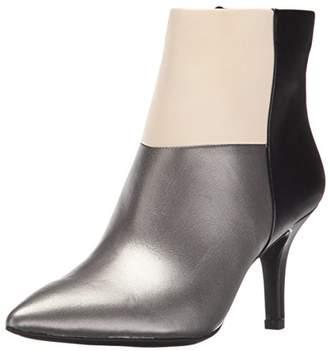 Anne Klein Women's Yarisol Leather Ankle Bootie