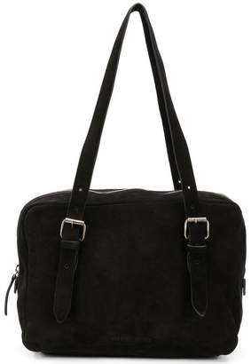 Ann Demeulemeester buckled shoulder bag