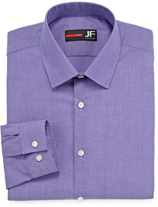 Jf J.Ferrar Easy-Care Stretch Long Sleeve Broadcloth Dress Shirt Big & Tall