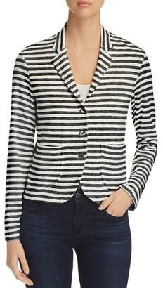 Majestic Filatures Striped Knit Blazer