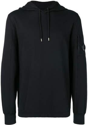 C.P. Company lens sleeve pocket hoodie