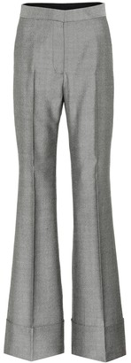 Stella McCartney Flared wool pants