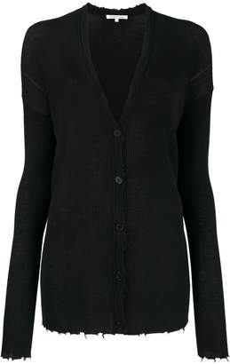 Helmut Lang lightweight knitted cardigan