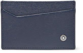Montblanc 4810 Westside Textured-Leather Cardholder - Blue