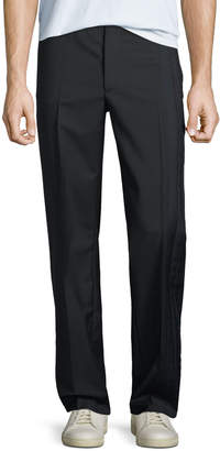 Valentino Men's Wool-Blend Track Trousers