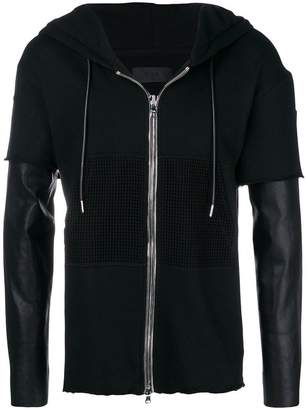 RtA zipped up hoodie