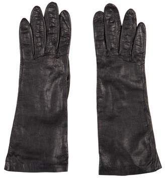 Hermes Lambskin Short Gloves