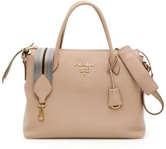 Prada Deer-print Calfskin Bag