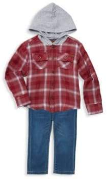 7 For All Mankind Little Boy's Two-Piece Jacket & Pants Set