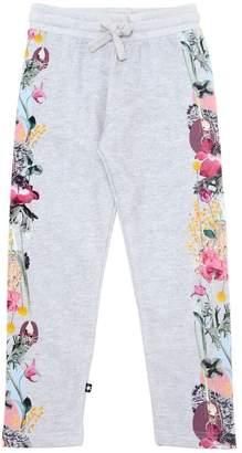 Molo Floral Printed Cotton Sweatpants