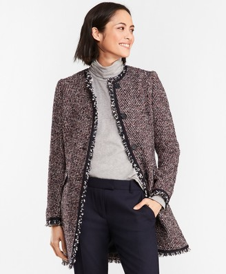Brooks Brothers Boucle Coat