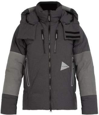 And Wander - Heather Down Padded Jacket - Mens - Dark Grey