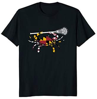 LaCrosse Maryland Crab Boys T-Shirt Stick LAX Sister Brother