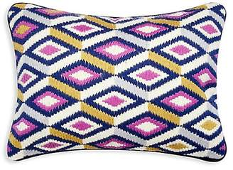 Jonathan Adler Bargello Embroidered Pillow