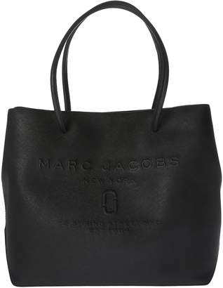Marc Jacobs Logo Embossed Tote