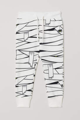 H&M Joggers - White